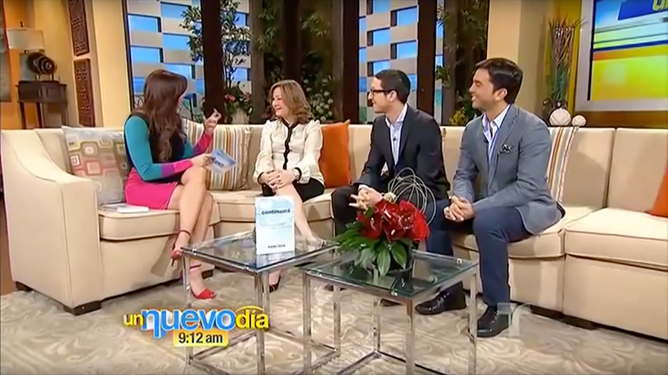 Un Nuevo Dia, Telemundo: To Be Continued book launch