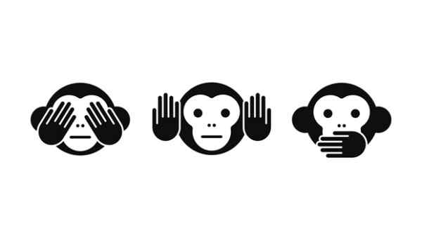 three wise monkeys facebook cover
